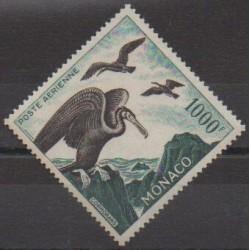 Monaco - Poste aérienne - 1957 - No PA68 - Oiseaux
