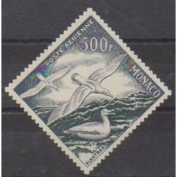Monaco - Poste aérienne - 1955 - No PA57 - Oiseaux