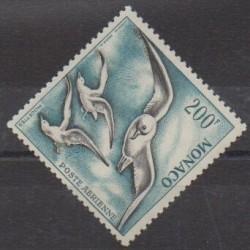 Monaco - Poste aérienne - 1955 - No PA56 - Oiseaux