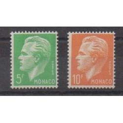 Monaco - 1950 - Nb 349/350