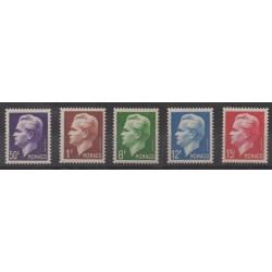 Monaco - 1950 - Nb 344/348