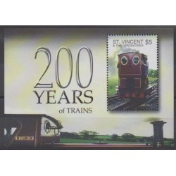 Saint Vincent (Grenadines) - 2004 - Nb BF591 - Trains