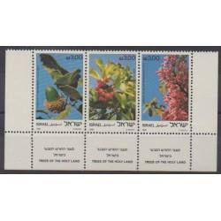 Israël - 1981 - No 813/815 - Fleurs