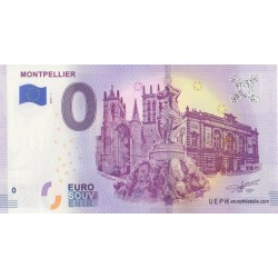 Euro banknote memory - 34 - Montpellier - 2019-1