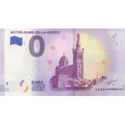 Euro banknote memory - 13 - Notre-Dame-de-la-Garde - 2019-4