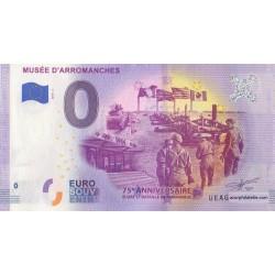 Euro banknote memory - 14 - Musée d'Arromanches - 2019-2
