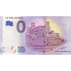 Euro banknote memory - 06 - Le Vieil Antibes - 2019-1