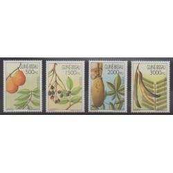 Guinée-Bissau - 1992 - No 606/609 - Fruits ou légumes