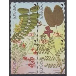 Guinea-Bissau - 1992 - Nb 612/615 - Flora