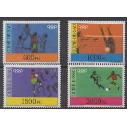 Guinea-Bissau - 1992 - Nb 620/623 - Summer Olympics