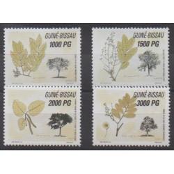 Guinea-Bissau - 1992 - Nb 624/627 - Trees