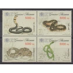 Guinea-Bissau - 1994 - Nb 652/655 - Reptils