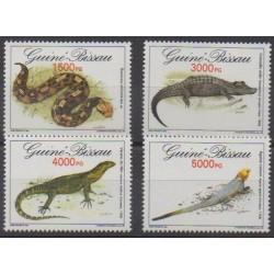 Guinea-Bissau - 1993 - Nb 632/635 - Reptils
