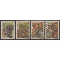 Guinée-Bissau - 1995 - No 656/659 - Gastronomie