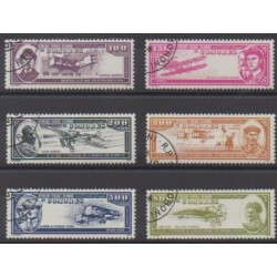 Comoros - 1988 - Nb PA259/PA264 - Planes - Used