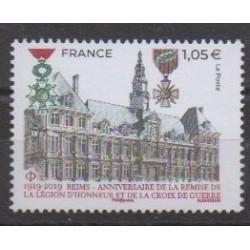 France - Poste - 2019 - No 5338 - Monnaies, billets ou médailles