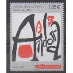 Andorre - 2019 - No 832 - Peinture