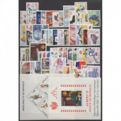 Monaco - Complete year - 2006 - Nb 2528/2587 - BF92/BF93