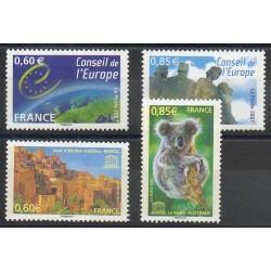 France - Official stamps - 2007 - Nb 136/139