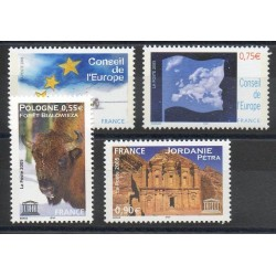 France - Official stamps - 2005 - Nb 130/133