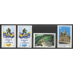 France - Official stamps - 2003 - Nb 126/129