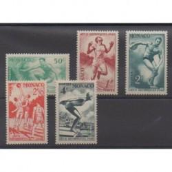 Monaco - 1948 - 319/323 - Jeux Olympiques d'été