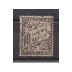 Monaco - Timbres-taxe - 1905 - No T4 - Oblitéré