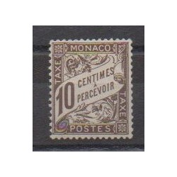 Monaco - Postage due - 1905 - Nb T4