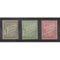 Monaco - Postage due - 1905 - Nb T1/T3
