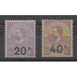 Monaco - Postage due - 1919 - Nb T11/T12 - Mint hinged