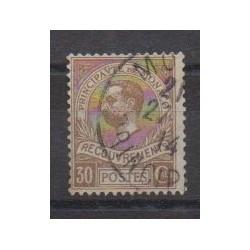 Monaco - Timbres-taxe - 1910 - No T10 - Oblitéré