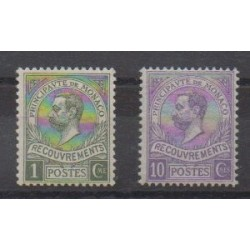 Monaco - Postage due - 1910 - Nb T8/T9