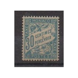 Monaco - Timbres-taxe - 1905 - No T6 GC
