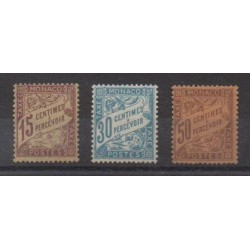 Monaco - Postage due - 1905 - Nb T5/T7