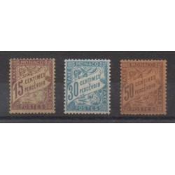 Monaco - Timbres-taxe - 1905 - No T5/T7