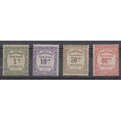 Monaco - Timbres-taxe - 1924 - No T13/T16