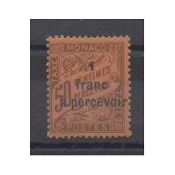 Monaco - Timbres-taxe - 1925 - No T17b