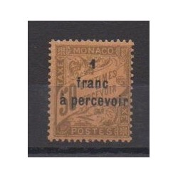 Monaco - Postage due - 1925 - Nb T17