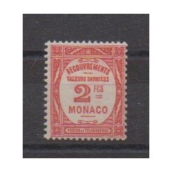 Monaco - Postage due - 1932 - Nb T28 - Mint hinged