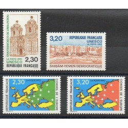 France - Official stamps - 1990 - Nb 102/105