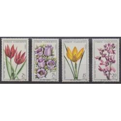 Turquie - 1980 - No 2294/2297 - Fleurs