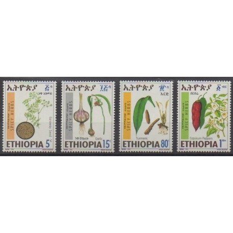 Ethiopia - 1993 - Nb 1342/1345 - Gastronomy