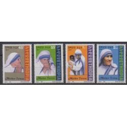 Ethiopia - 1999 - Nb 1490/1493 - Religion