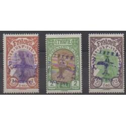 Ethiopia - 1929 - Nb PA8/PA10