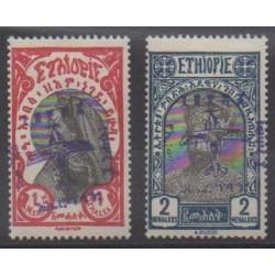 Ethiopia - 1929 - Nb PA4/PA5