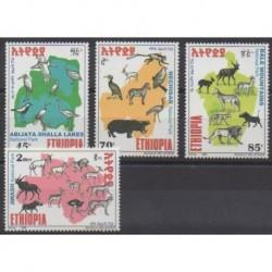 Éthiopie - 1999 - No 1502/1505 - Animaux