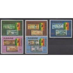 Éthiopie - 1988 - No 1230/1234 - Monnaies, billets ou médailles