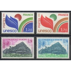 France - Official stamps - 1978 - Nb 56/59