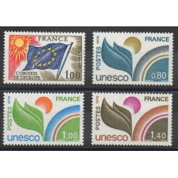 France - Official stamps - 1976 - Nb 49/52