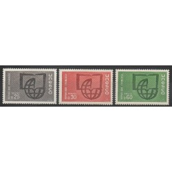 France - Official stamps - 1966 - Nb 36/38